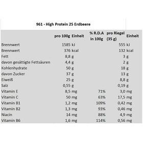 Isostar High Protein 25 Bar Box 30x35g Strawberry